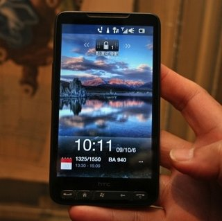 UK retailer Clove dates and prices HTC HD2