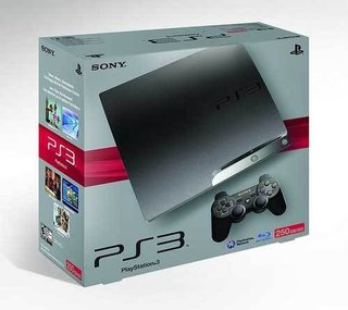 250GB PS3 Slim heading to USA