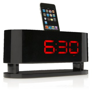 GrooveNeo iPod alarm clock launches