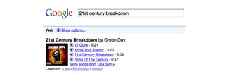 Google adds music search; foretells the death of another industry