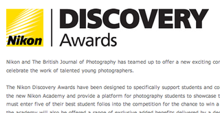 Nikon Discovery Awards for students announced