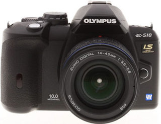 Olympus E-510 gives image stabilising to the camera