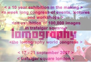 Lomography World Congress London 2007 announced
