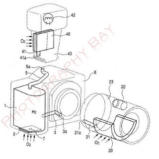 Canon fuel cell patent uncovered