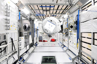 Speaking interactive AI robot heading to International Space Station, 2001 and Alien here we come