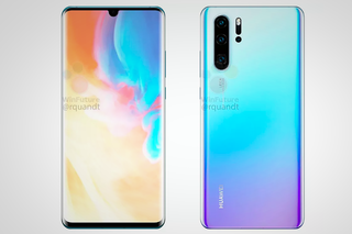 Huawei P30 Pro teardrop notch, quad cameras revealed in leaked renders