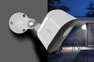 Netgear adds a smart security light (and solar panel) to its Arlo lineup