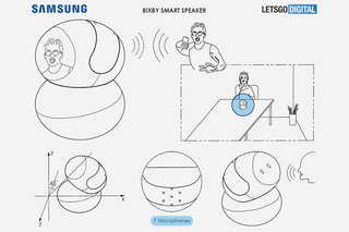 Samsung's Bixby smart speaker might have this pivoting head display