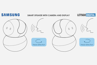 Samsungs Bixby smart speaker might have this pivoting head display image 2