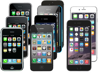 Look how much the iPhone has changed, complete collection in photos