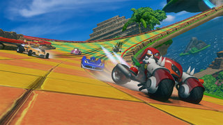 sonic and sega all stars racing transformed wii u  image 5