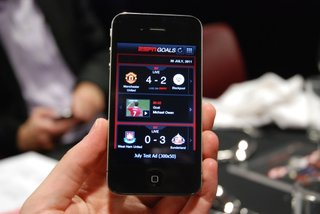 espn goals app to bring every strike from the premier league image 1