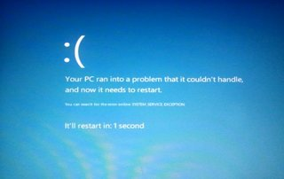 blue screen of death reimagined for windows 8  image 2