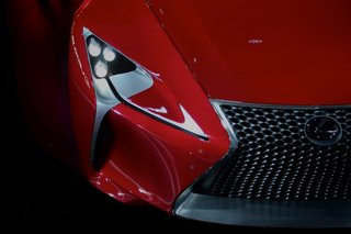 lexus lf lc concept pictures and hands on image 10