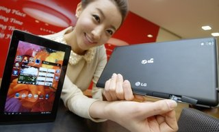lg optimus pad lte unleashed sans ice cream sandwich image 2