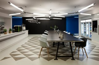 inside google london a park a coffee lab and nightclub style meeting rooms image 21