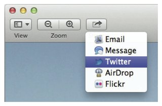 twitter to be baked into os x mountain lion image 2
