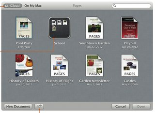 icloud for os x mountain lion brings auto setup and syncing image 2