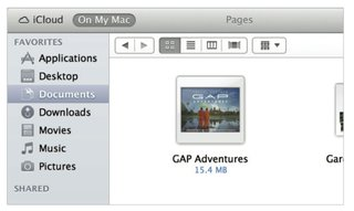 icloud for os x mountain lion brings auto setup and syncing image 4