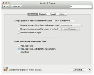 apple gatekeeper to protect your new mac from malware in mountain lion image 2