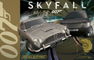james bond 007 skyfall cars revealed with official scalextric set image 2