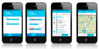 re route the app that rewards londoners for walking to work image 1