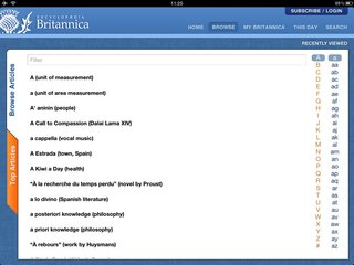 encyclopaedia britannica ipad iphone app lets you have an answer for everything for 1 99 a month image 2
