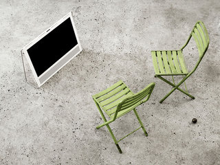 bang olufsen s reasonably priced beoplay v1 tv with apple tv slot leads strong 2012 line up image 2
