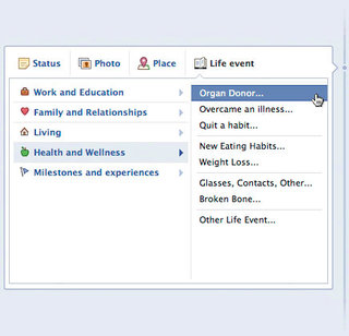facebook s new life saving feature tell your friends you are an organ donor  image 2