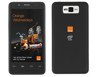 orange santa clara pairs intel medfield and android in an affordable package image 13