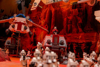 lego star wars miniland experience legoland windsor pictures and hands on image 22
