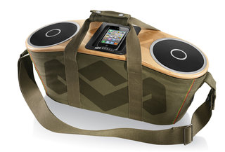 house of marley bag of rhythm iphone dock now available in uk image 2