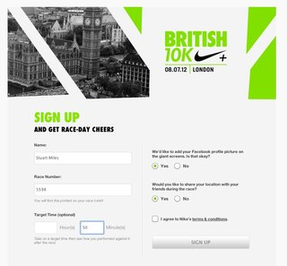 british 10k facebook and nike lets friends cheer you on live as you race image 2