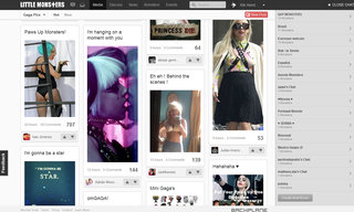 little monsters lady gaga s social network open for business image 2