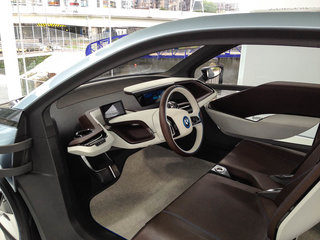 bmw i3 and i8 concept cars race into olympic park image 7