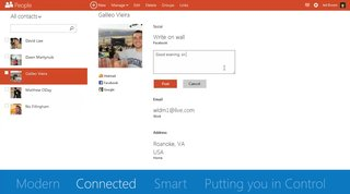 hotmail becomes outlook com as microsoft revamps email platform with cleaner interface and social network integration image 4