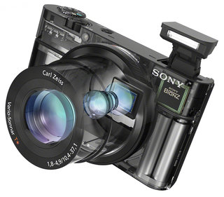 sony rx100 high spec compact camera image 6