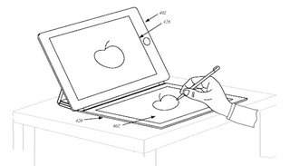 apple patent ipad smart cover with second flexible display image 2