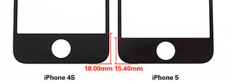 iphone 5 front panel specifics revealed video  image 2