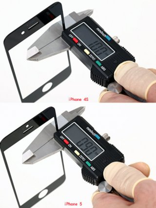 iphone 5 front panel specifics revealed video  image 4