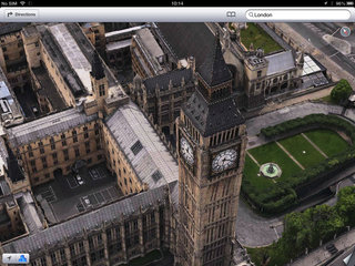 apple maps london easter eggs show the london halo olympics and samsung advert image 4