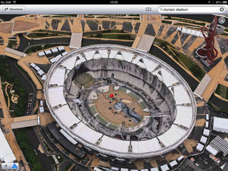 apple maps london easter eggs show the london halo olympics and samsung advert image 5