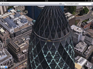 apple maps london easter eggs show the london halo olympics and samsung advert image 7