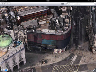 apple maps london easter eggs show the london halo olympics and samsung advert image 8