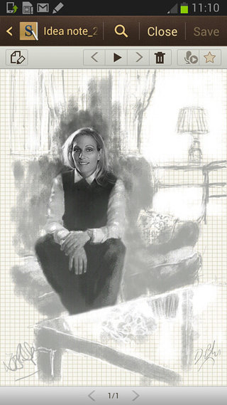 zara phillips sits for samsung galaxy note 2 portrait image 4
