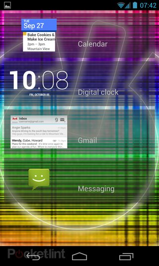 nexus 4 and 10 android 4 2 update brings lockscreen widgets and multi user support image 5