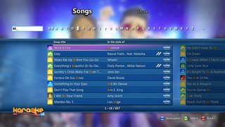 karaoke on the xbox 360 will let you sing by the hour just don t expect it to protect your dignity image 3