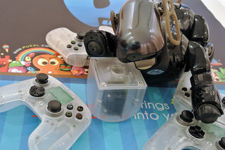 ouya android console dev kits already have stereoscopic 3d option exclusive hands on pictures prove image 2