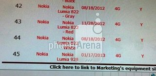 nokia lumia 928 internal product listing hints upcoming verizon launch image 2