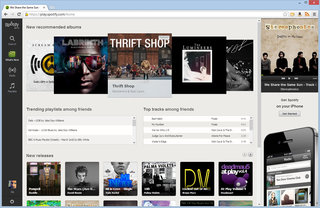 spotify web player now live in uk play your music through a browser image 2